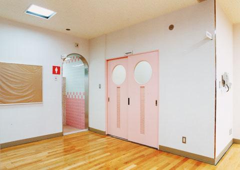 2階・学童保育室入口